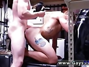 Video penis straight homo gay sex and chinese bear Dungeon sir with a gimp