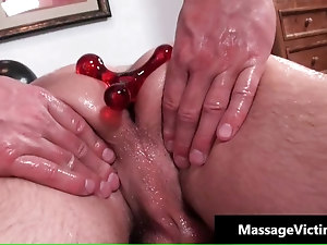 Dylan gets his anus oiled and fucked
