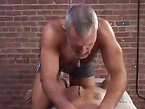 Hariy Daddy Likes To Abuse