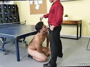 Gay cute twink porn and gallery daddy xxx by having him slurp his cock.