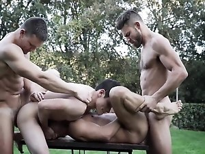 Klim Gromov, Ricky Verez, James Castle and Andrey Vic