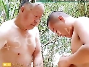 Live broadcast: youth and handsome old passion anal sex