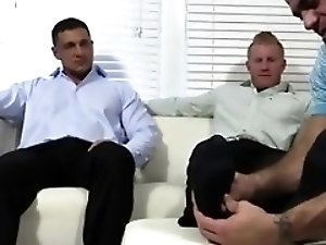 Boy gay porn long xxx Ricky Worships Johnny & Joey's Feet