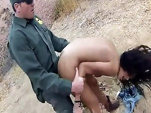 Cop uniform Cute latin peacherino Josie Jaeger rails on the rock-hard