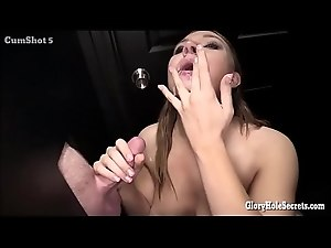 Gloryhole Secrets Tiff Banister sucking strangers cocks  - FREE HOT WEBCAMS ON WWW.LIVEHOTGIRLS.XYZ