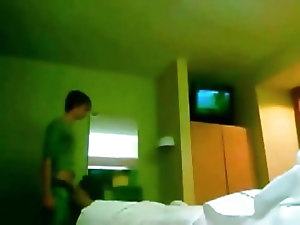 Non-professional gay porn video with me and my fuck buddy meeting in a motel room to have some gay sex fun. He sucks my cock and we fuck anally on the